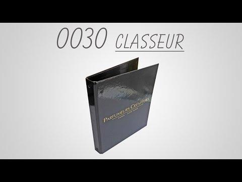 Classeur 4 anneaux noires pelliculage brillant 0030