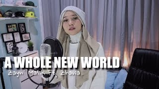 "ZAYN, Zhavia Ward - A Whole New World (End Title) (From ""Aladdin"") [ Cover by Ayuenstar ]"