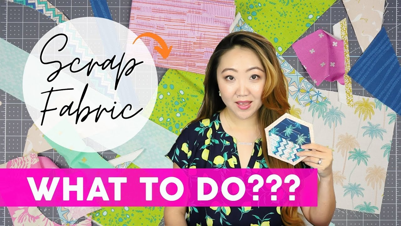 How to Use Up Scrap Fabric 🧵 Sewing Project Ideas