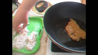 Эсколоп из курицы. Так быстро готовить.