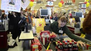 Tina Schwern at the Regional Bagging competition in Jackson, NJ