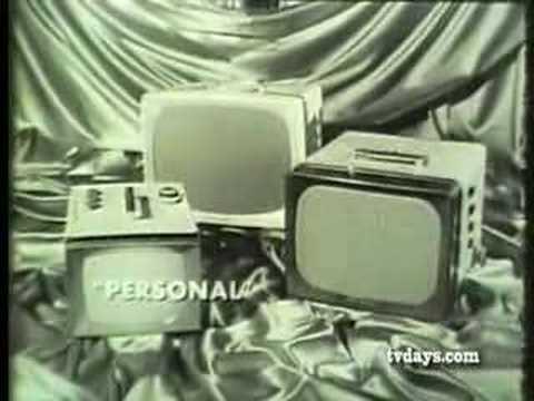 GE TV SETS 1960