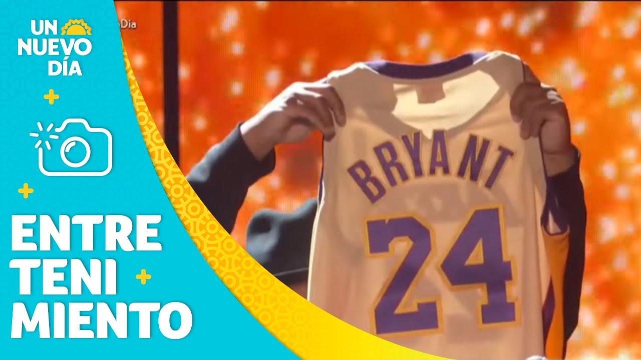 Kobe Bryant tuvo homenaje en los Grammy 2020 | Un Nuevo Día | Telemundo