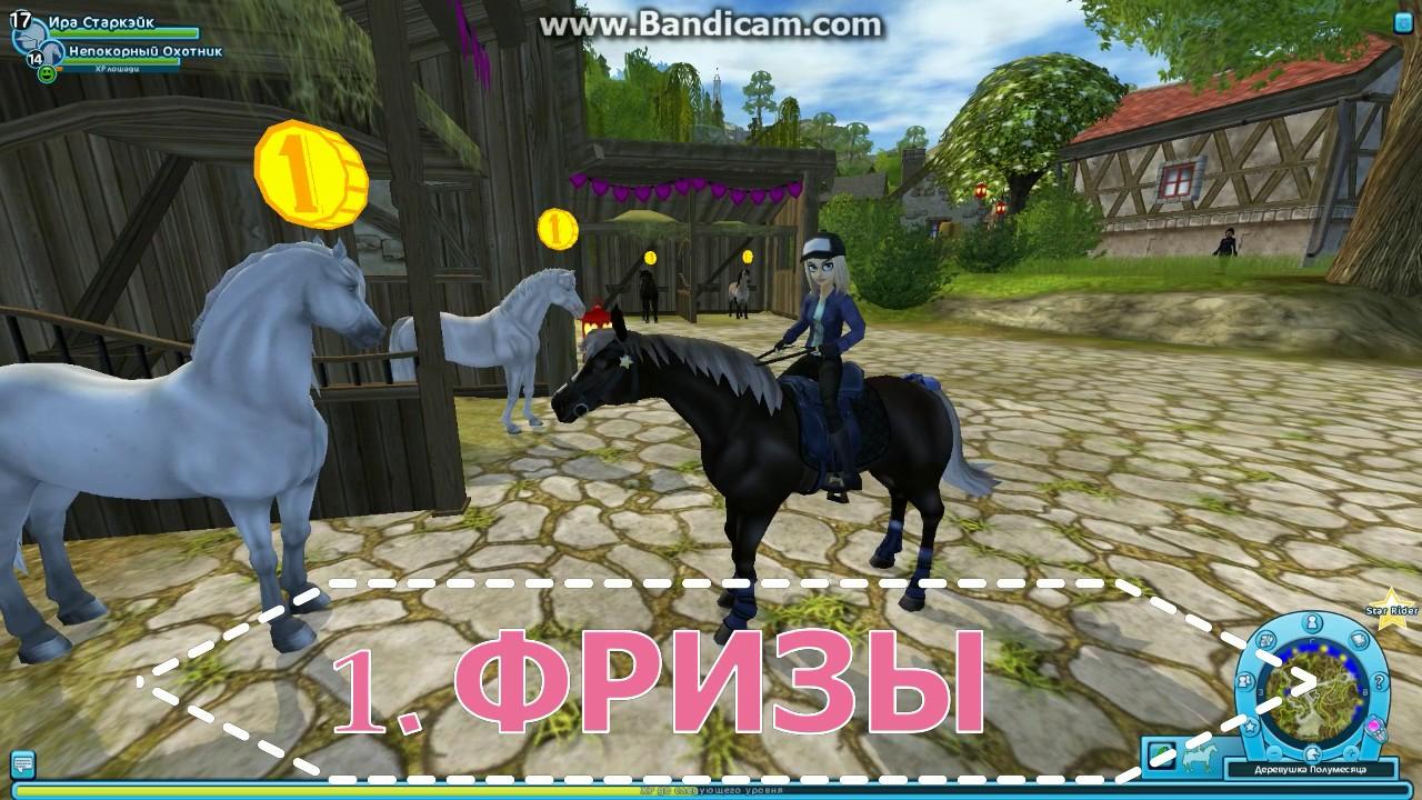 Лошади фризской породы имеют высоко поставленную шею с легким и красивым изгибом. Голова у этих лошадей длинная, крупная со строгими.