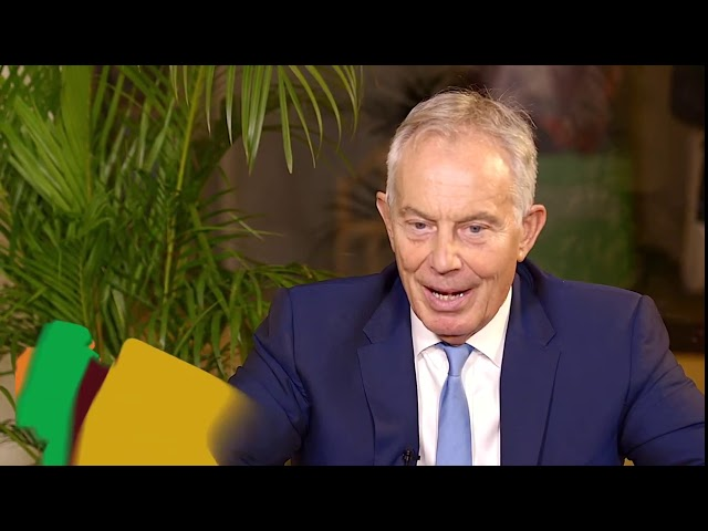 #AGRF2019 Fireside chat: Rt. Hon. Tony Blair - Chairman, Tony Blair Institute for Global Change