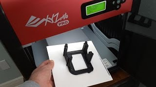 XYZprinting Da Vinci 1.0 Pro and the Zebra Plate