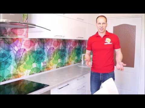 Длинная и узкая кухня. Фурнитура Blum (блюм)