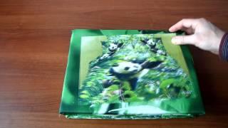 Постельное бельё из сатина  - ФМ - РС60(Ткань: сатин, 3D фото-печать Состав: 100% хлопок Основной цвет: зеленый Упаковка: подарочная Производитель:..., 2014-03-24T07:49:40.000Z)