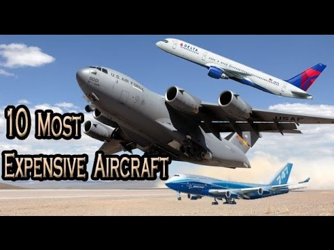 Top 10 expensive aircraft in the world most expensive for The most expensive airplane