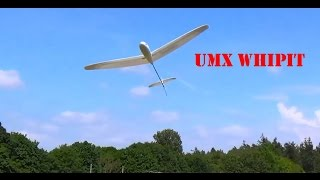 E-Flite UMX Whipit DLG RC Glider