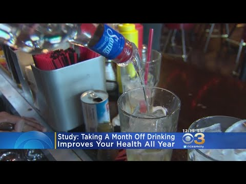 Sylvia Chacon -  A Month Off Drinking Improves Health All Year