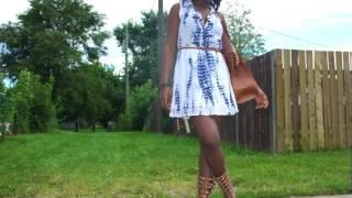 OOTD: Tie & Dye Dress