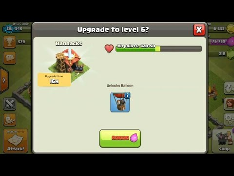 Clash Of Clans -  How To Unlock The BALLON