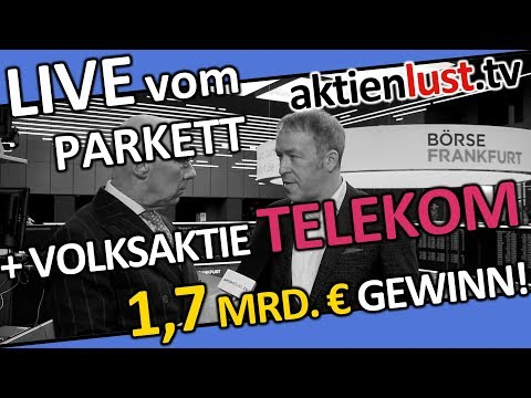 Volksaktie TELEKOM - 1,7 MRD. € Quartalsgewinn | T-Mobile US das Filetstück | Aktienlust