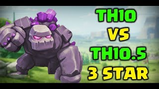 How to Th10 vs Th11 3 star using govaho ( Th10.5) | Clash of Clans