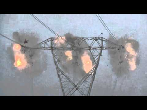 Implosion jointing on the Northwest Transmission Line