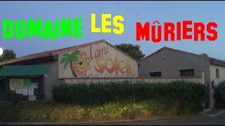 France - Vendres-Plage - Domaine Les Mûriers - jusque notre mobil-home - Juillet 2016