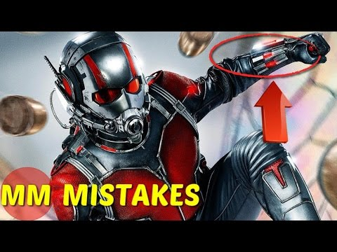 13 Amazing MISTAKES In The Ant Man You...