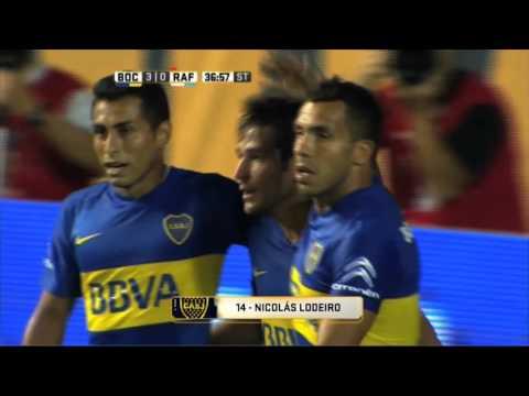 Boca está encendido señores: goleó 3 a 0 a Rafaela y no pierde terreno
