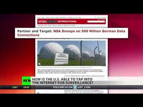 NSA monitors global Internet traffic via private fiber-optic cables
