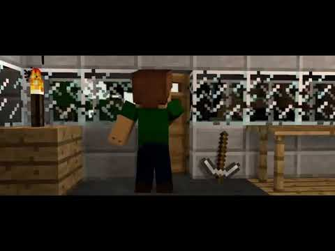 Enes Batur Sen Yerinde Dur Minecraft Animasyonu