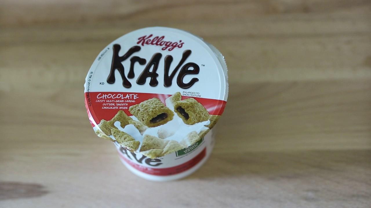 Food Review: Krave Cereal - Kellog's