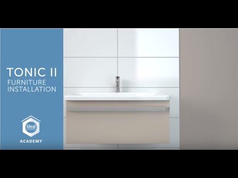 ISI Academy – Ideal Standard Tonic II - Basin unit installation ...
