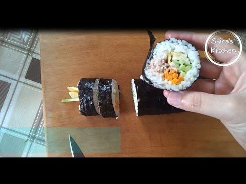 Kimbap nasıl yapılır ? -김밥