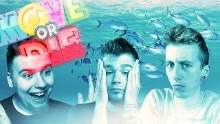 Move or Die [#15] - PODWODNA PRZYGODA! (With: Alien, Mandzio, Dezy) #Bladii