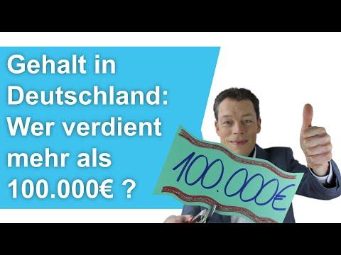Gehalt Deutschland: Wer verdient über 100.000 Euro? (Bestbezahlte Jobs)