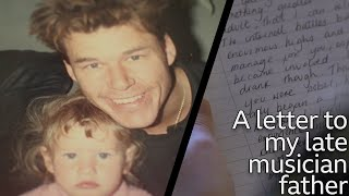 Kirsten Adamson's letter to her late dad - BBC Loop