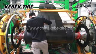 Tire Factory Truck Tire Manufacturing Process Details | KEBEK TIRE