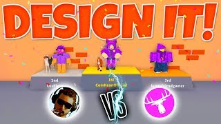 DESIGN IT MED DME! - Roblox Design It Dansk
