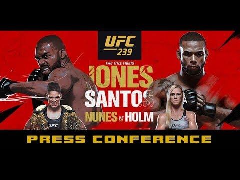 UFC 239 Post-Fight Press Conference: Jon Jones, Amanda Nunes, Jorge Masvidal