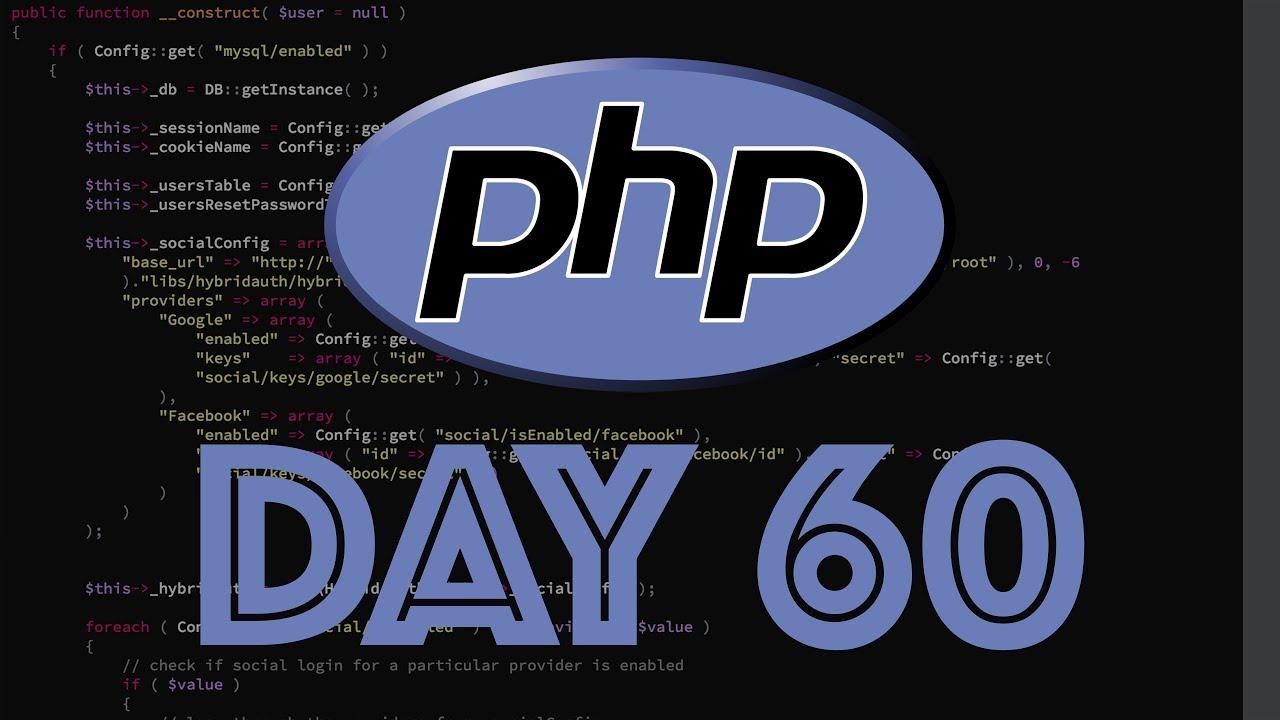 php web framework day
