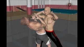 Урок удар ребром ладони Боевое Кунг фу