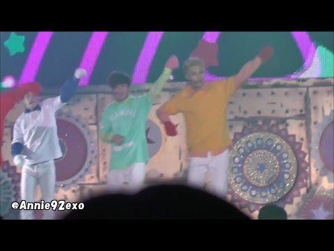 131225 5 〇 Candy (H.O.T) EXO-M Chen @ SMTOWN WEEK Christmas Wonderland 【LQ】