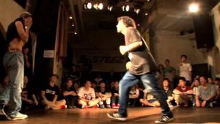 """WIN : TWINS DADDYa.k.a KATSUMI (PYRO) Street dance Battle """"DANCE@LI..."""