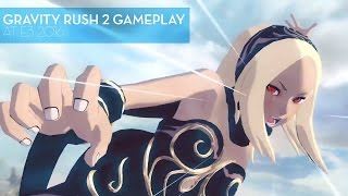 Gravity Rush 2 Gameplay at E3 2016