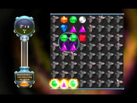Bejeweled Twist - Breaking Coal Mine Challenge |