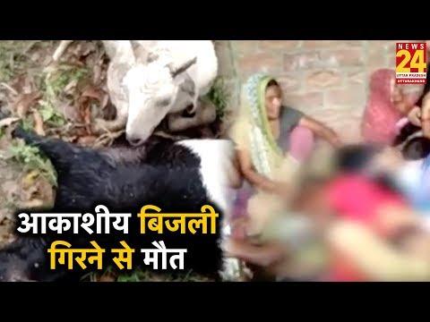Jhansi में आकाशीय बिजली गिरने से पांच की मौत, 7 लोग झुलसे
