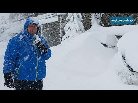 wetteronline.de: Sehr viel Schnee in den Westalpen (24.11.2016)