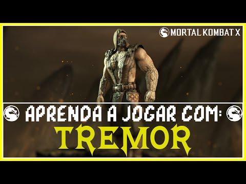 Mortal Kombat X: Tremor, Aprenda combos e técnicas (Variação: Terremoto)