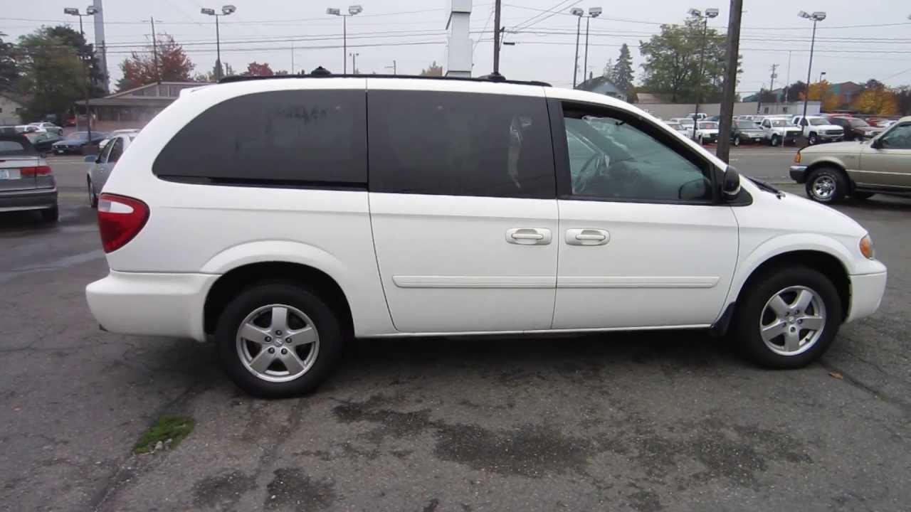 2005 Dodge Grand Caravan White Stock 11305 Youtube