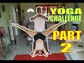 HILARIOUS YOGA CHALLENGE!! PART 2
