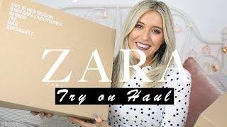 ZARA HAUL + TRY ON // MAY 2018 | Em Sheldon