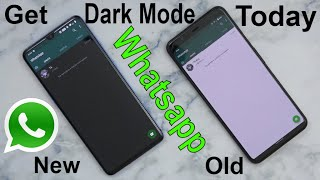 How To Enable/Turn On Whatsapp Dark/Night Mode/Theme UI On Android Today (No Root Mod Tutorial)
