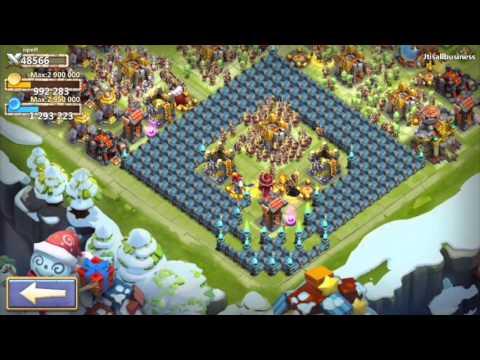Castle Clash IOS Arctica Update