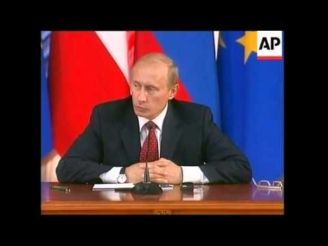 Final presser of Russia/EU summit, Barroso, Putin bites