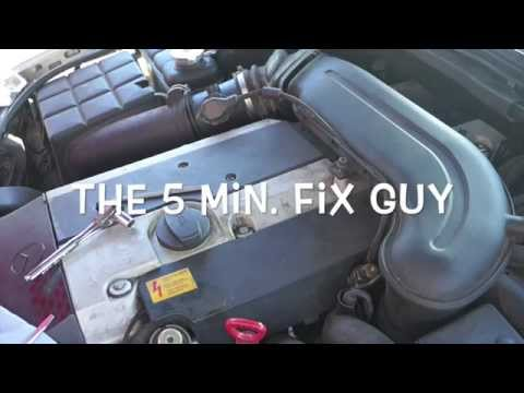 Mercedes C280 1996 - How to change spark plugs and coil